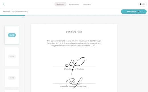 SignWell  eSignature platform