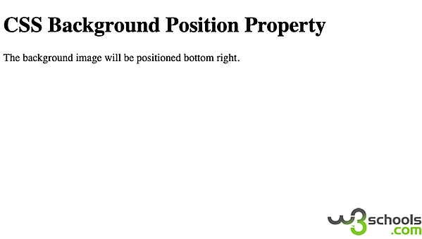 CSS background position property defined by keyword values
