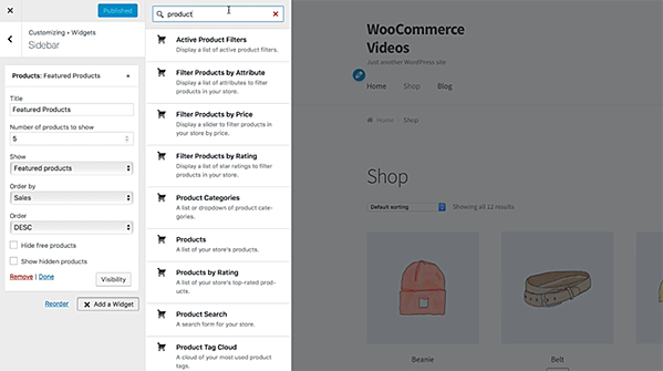 WooCommerce free WordPress plugin