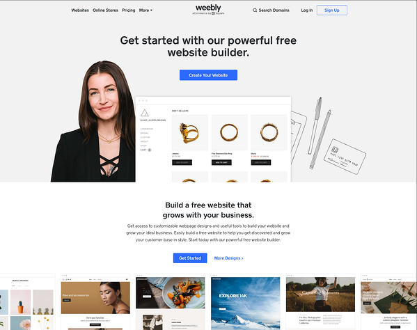 Wix website  drag and drop page builder
