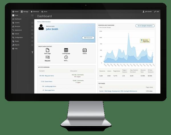 Drupal blogging platform.