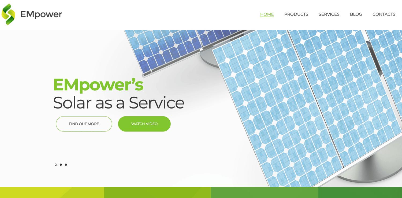 EMpower bootstrap WordPress theme TemplateMonster