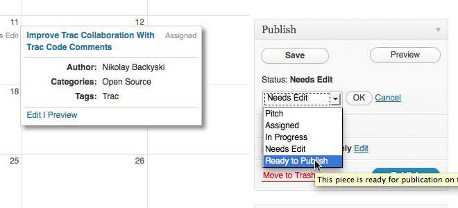 Edit Flow best WordPress plugins for writers