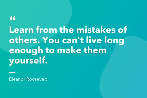 Eleanor Roosevelt Inspirational Sales Quote-min