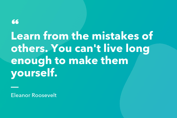 Eleanor Roosevelt Inspirational Sales Quote-min