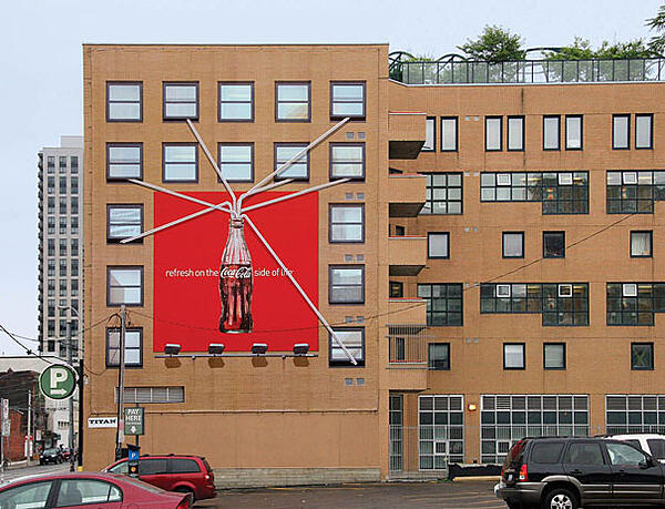 billboard advertising coca cola