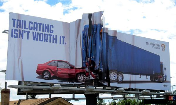 billboard advertising colorado state patrol