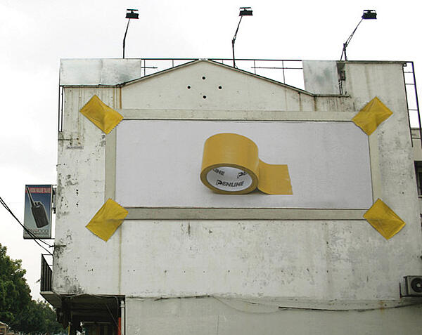billboard advertising penline stationery