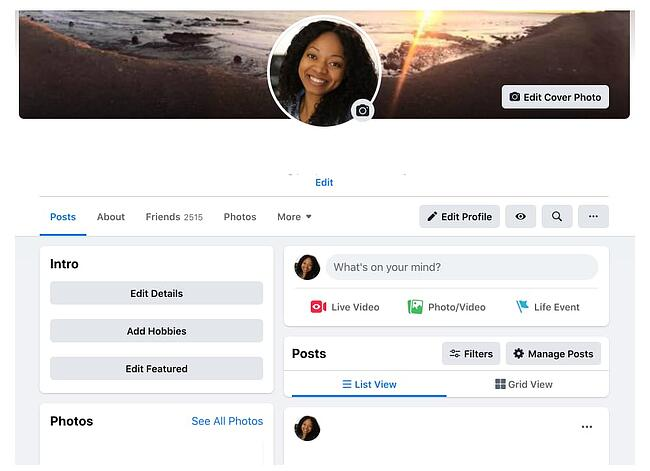 How to find and view your Facebook timeline