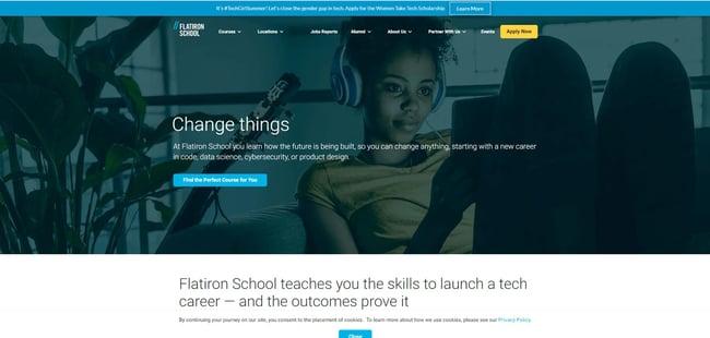 best online coding bootcamp: Flatiron School