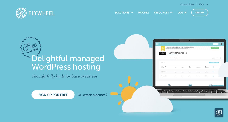 Flywheel to fix WordPress white screen of death