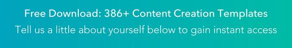 Content Creation Templates