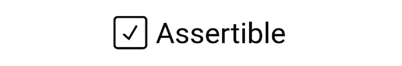 logo for the API testing tool Assertible