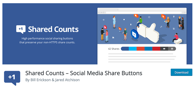 Facebook Plugin for WordPress - Shared Counts