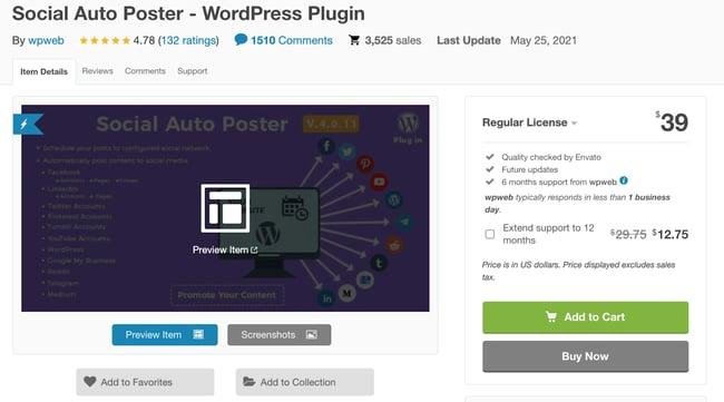 Facebook Plugin for WordPress - Social Auto Poster
