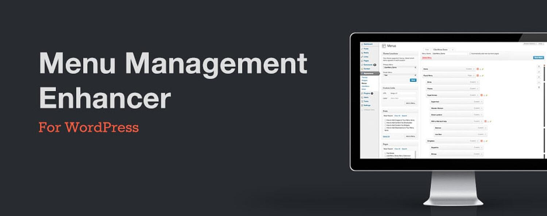 product image for the wordpress mega menu plugin Menu Management Enhancer