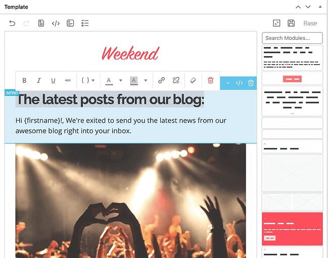 WordPress newsletter plugin: Mailster
