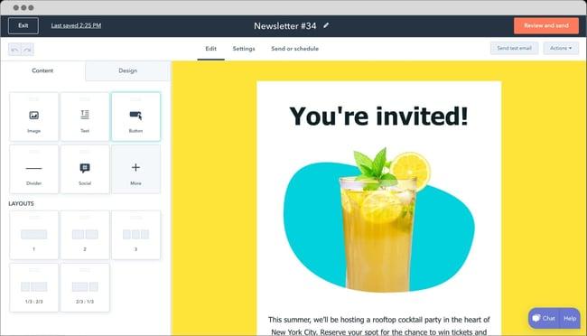 WordPress newsletter plugin: HubSpot WordPress Plugin
