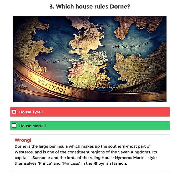 Answered question with correct answer and explanation created with WordPress Viral Quiz Plugin