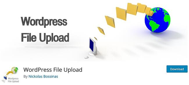 download page for the wordpresss file upload plugin wordpress file upload