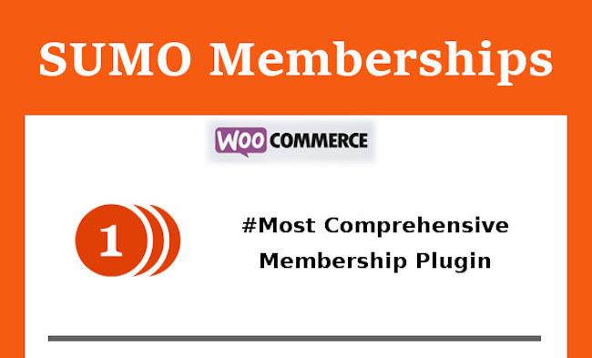 WordPress membership plugin: SUMO Memberships