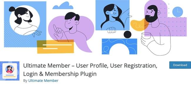 WordPress membership plugin: Ultimate Member