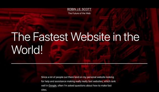 Speed Optimization in web design