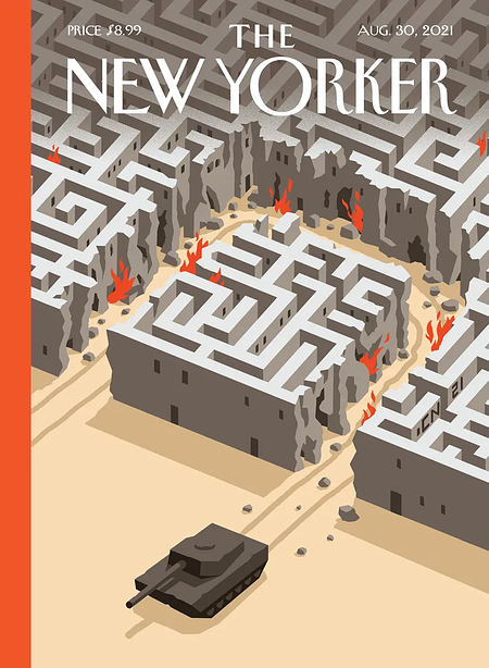 unique typography in modern web design by the New Yorker