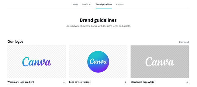 Elements of the Perfect Press Page Design: Canva