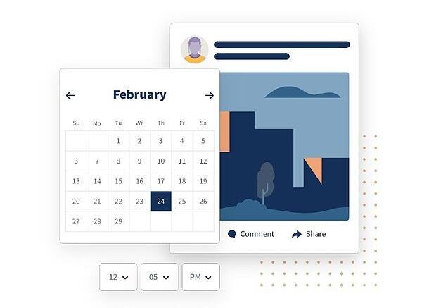 social media calendar tools: Hootsuite