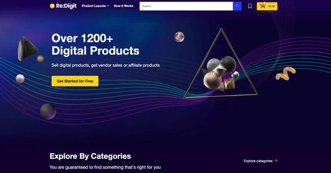 demo page for the amazon affiliate wordpress theme rehub