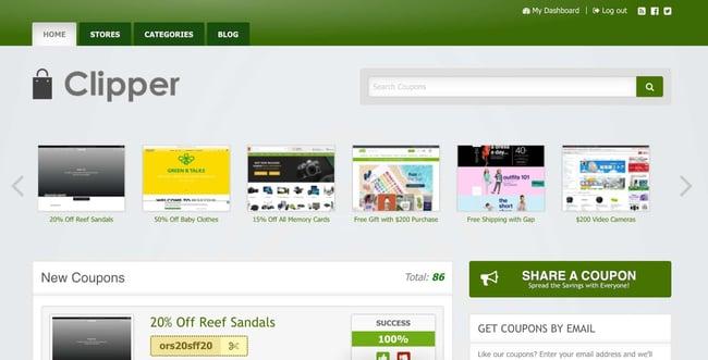 demo page for the amazon affiliate wordpress theme clipper