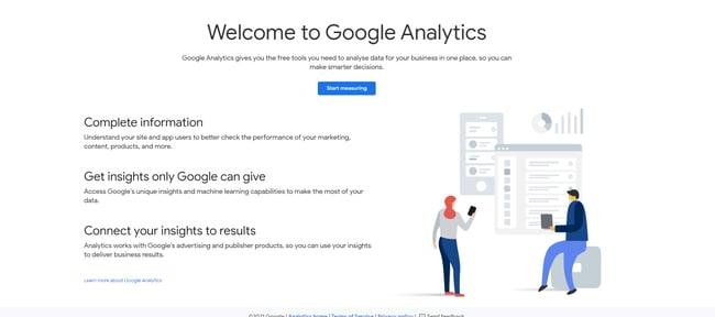 UX tool: Google Analytics
