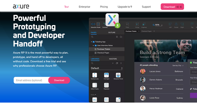 UX tool: Axure