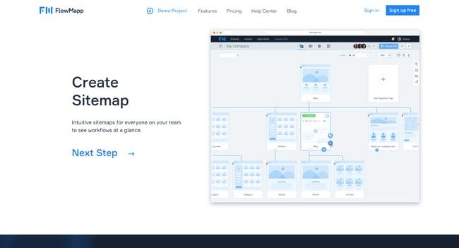 UX tool: FlowMapp