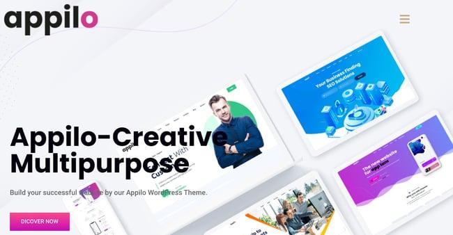 Appilo Landing Page WordPress Theme