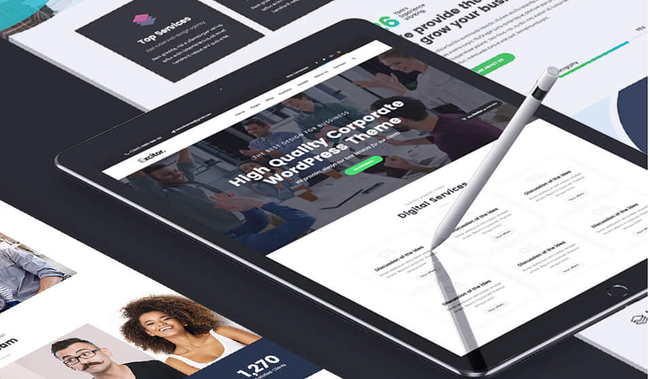Consulting WordPress Theme Excitor