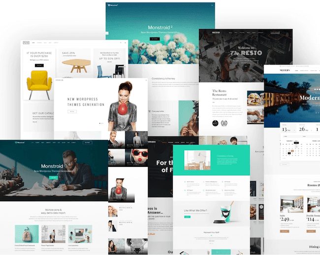 Monstroid2 is one of the best consulting WordPress themes