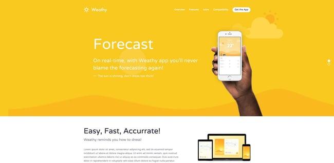 demo of the responsive business wordpress theme kalium