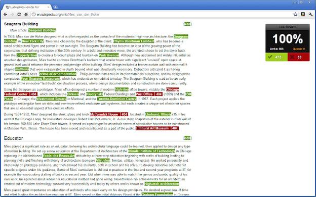 Check My Links blogging tool