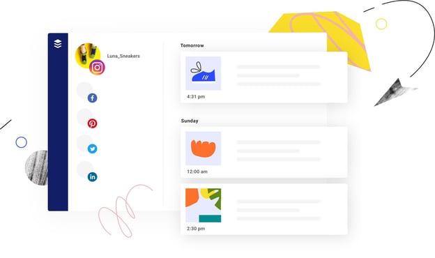 buffer blog promotion tool