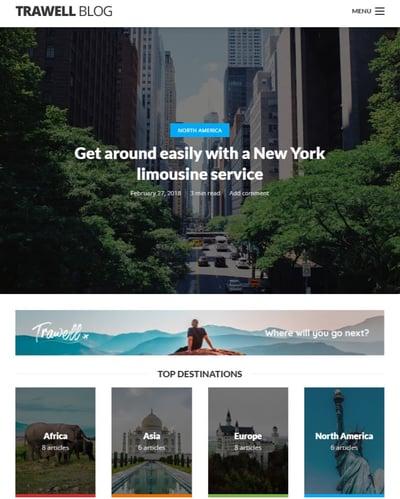 Best WordPress Instagram Themes Trawell