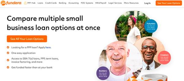 Fundera business funding platform