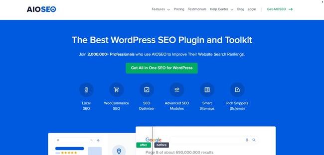 Best WordPress Plugins: All in One SEO