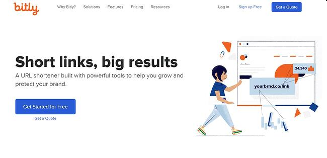 product page for the wordpress url shortener plugin wpbitly