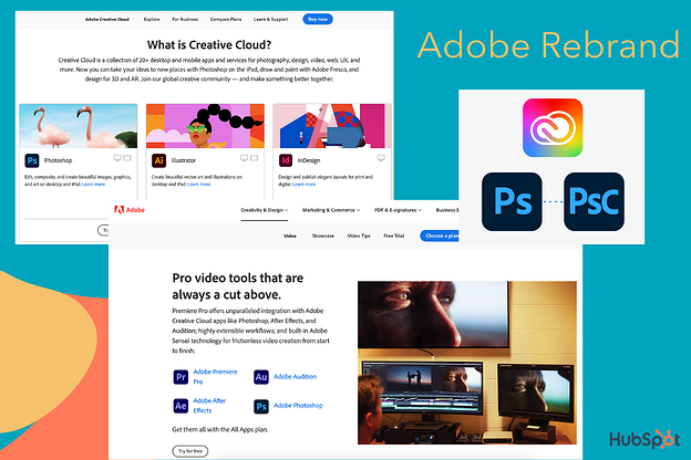 Adobes Rebranding der Creative Cloud