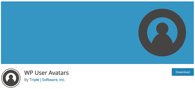 download page for the avatar wordpress plugin wp user avatars