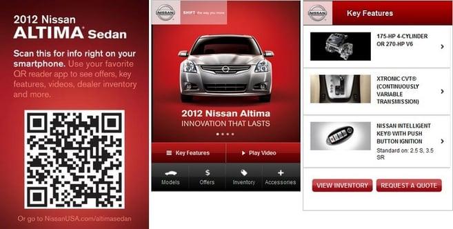 Nissan-QR-code