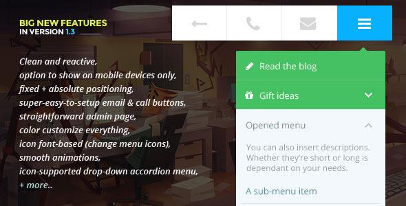 Mobile-Friendly WordPress Plugin Touchy