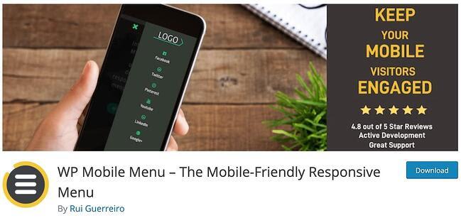 Mobile-Friendly WordPress Plugin WP Mobile Menu